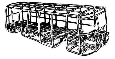 Типы кузовов автобусов