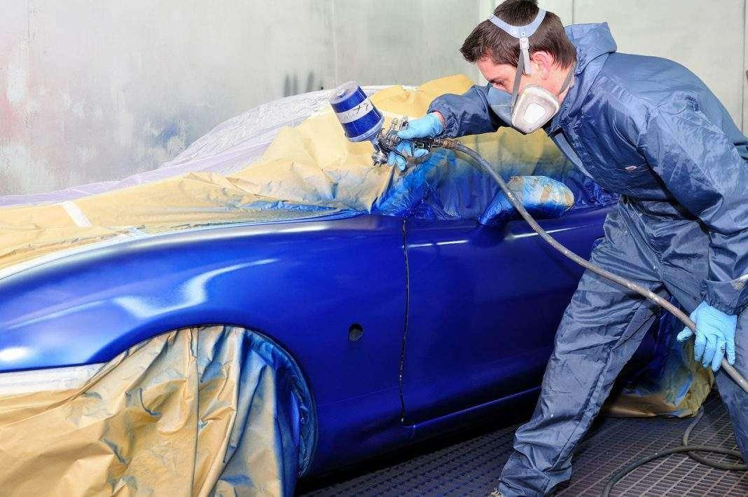 Технология покраски автомобиля своими руками в гараже 98